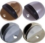 Half Moon Floor Mounted Door Stopper Stop In 4 Finishes